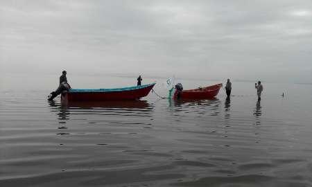 شروع دوباره قایقرانی در دریاچه ارومیه