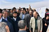 بازدید سعید متصدی از طرحهای مقابله با ریزگردها در اهواز